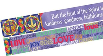 Fruit of the Spirit Double-Sided Border   -