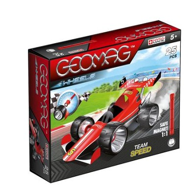 GEOMAG Wheels Red Team Speed (25 Pieces)   -