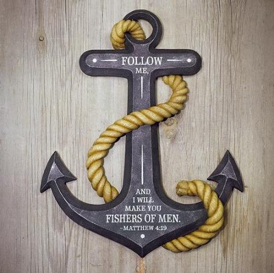 Fishers Of Men, Anchor Wall Sculpture  -