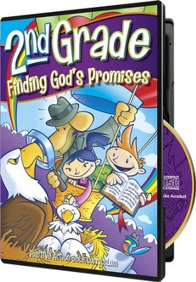 Finding God's Promises Teacher's Manual on CD-ROM (2nd  Grade)  -