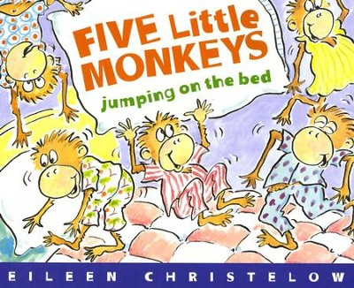 Five Little Monkeys Jumping On The Bed, Softcover   -     By: Eileen Christelow     Illustrated By: Eileen Christelow