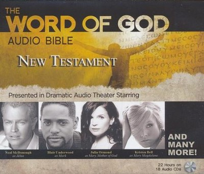 The Word of God Audio Bible - New Testament, Presented in  Dramatic Audio Theater, CD  -
