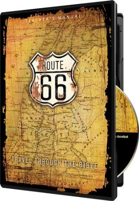 Route 66: Travel Through the Bible Teacher's Manual on  CD-ROM  -