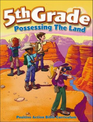 Possessing the Land Student Manual (5th Grade)   -