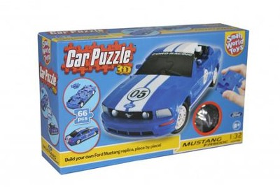 3D Puzzle Cars, Mustang  -