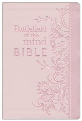 Battlefield of the Mind Bible: Renew Your Mind Through the Power of God's Word, Imitation Leather, pink  -     By: Joyce Meyer