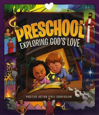 Exploring God's Love Teacher's Manual (2nd Edition,  Preschool K4)  -