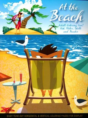 At The Beach: Adult Coloring Fun   -     By: Donna Duchek
