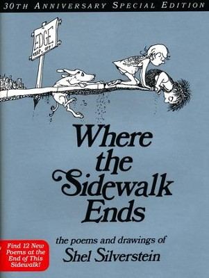 Where the Sidewalk Ends 40th Anniversary Edition (rpkg)  -     By: Shel Silverstein