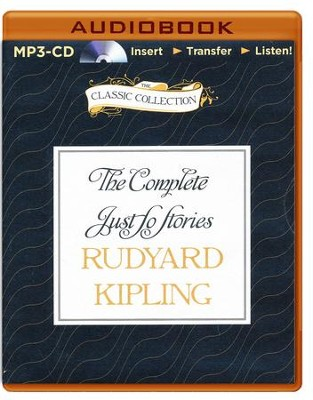 Complete Just So Stories - unabridged audiobook on MP3-CD  -     Narrated By: Johnny Morris     By: Rudyard Kipling