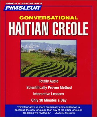 Haitian Creole, Conversational: Learn to Speak and Understand Haitian Creole with Pimsleur Language Programs Audiobook on CD  -     By: Pimsleur