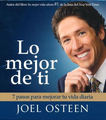 Lo Mejor de Ti, Audiolibro  (Become a Better You, Audiobook), CD  -     By: Joel Osteen