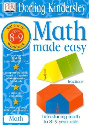 Math Made Easy: Third Grade Workbook  -