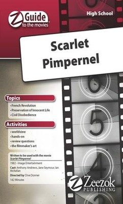 Scarlet Pimpernel Movie Guide CD Z-Guide to the Movies  -