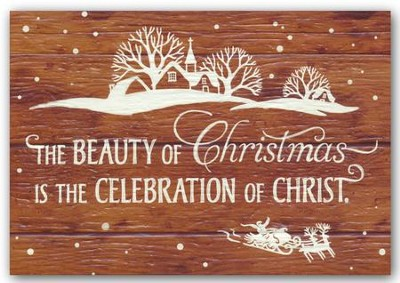 The Beauty of Christmas, Christmas Cards, Box of 18  -