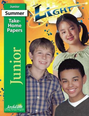 The Light Junior (Grades 5-6) Take-Home Papers   -