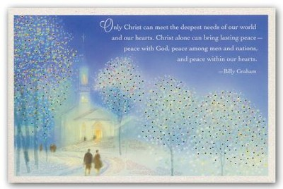 Only Christ Meets Our Needs, Christmas Cards, Box of 18  -