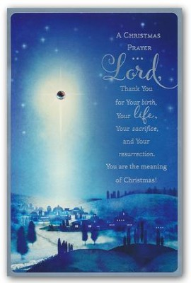 A Christmas Prayer, Christmas Cards, Box of 18  -