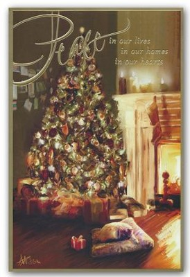Peace In Our Homes, Christmas Cards, Box of 18  -