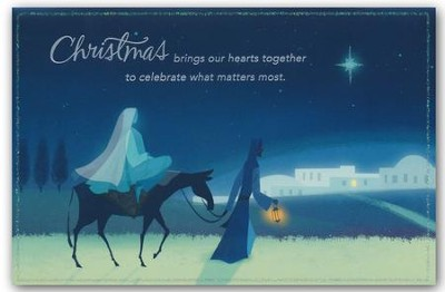 Brings Our Hearts Together, Christmas Cards, Box of 18  -