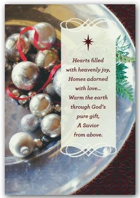 Hearts Filled With Joy, Christmas Cards, Box of 18  -