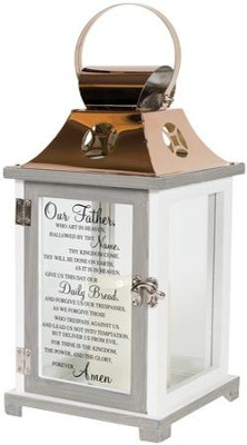 Lord's Prayer, LED Lantern  -