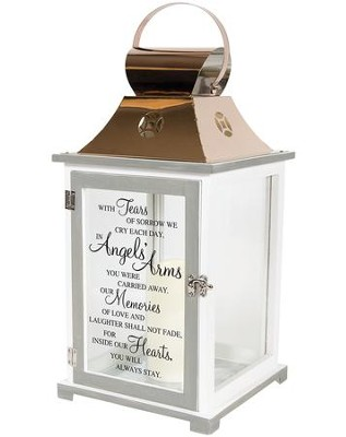 In Angels' Arms You Were Carried Away, LED Lantern  -