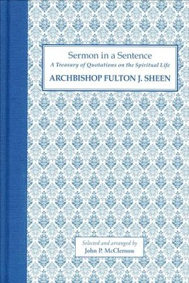 Archbishop Fulton J. Sheen  -     By: John P. McClernon