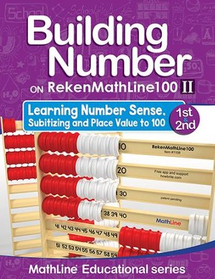 Building Number on RekenMathLine 100 Part 2 (Grade 2) Teacher Support  -