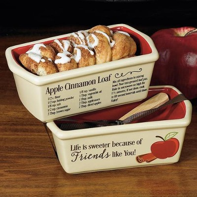 Apple Cinnamon, Recipe, Mini Loaf Pan  -