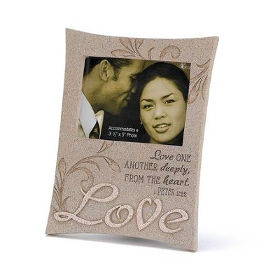 Love One Another Deeply Photo Frame  -