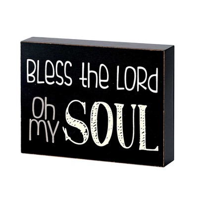 Bless the Lord, Oh My Soul Plaque  -