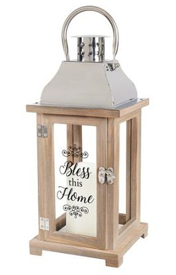 Bless This Home Lantern  -