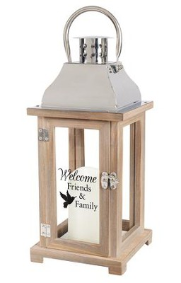 Welcome Friends Lantern  -