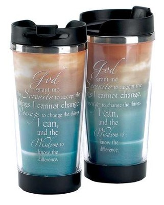 Serenity Prayer Travel Mug  -