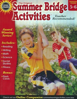 Summer Bridge Activities &#153 Grade 5 to 6  -