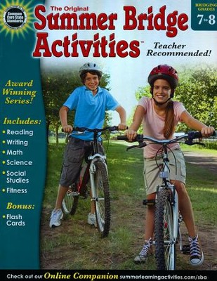 Summer Bridge Activities &#153 Grade 7 to 8  -