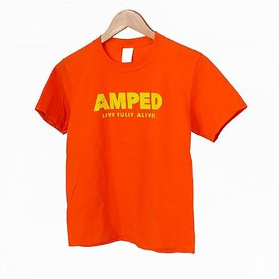 AMPED: Youth Child T-Shirt, Large  -