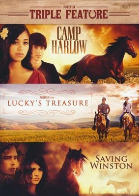 Triple Crown Set: Camp Harlow/ Lucky's Treasure/ Saving Winston  -