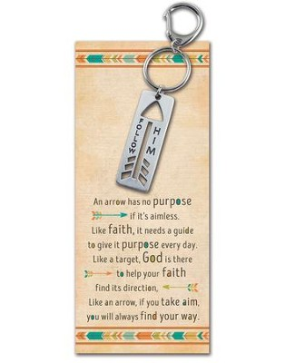 Arrow, Follow Him, Keyring  -
