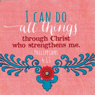 I Can Do All Things Through Christ Magnet  -