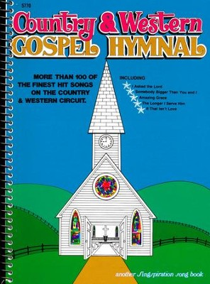 Country and Western Gospel Hymnal, Volume 1   -