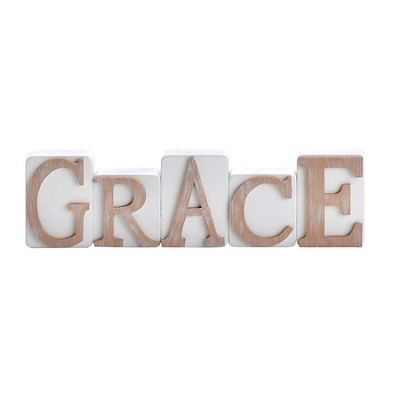 Grace, Word Blocks  -