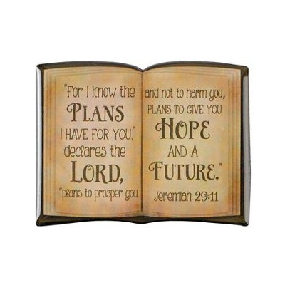 For I Know the Plans I Have For You, Bible Magnet  -