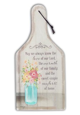 May We Always Know the Love of Our Lord, Glass Cutting Board  -