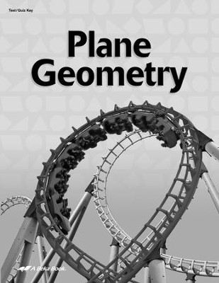 Plane Geometry Tests & Quizzes Key   -