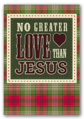 No Greater Love Than Jesus, Christmas Cards, Box of 18  -