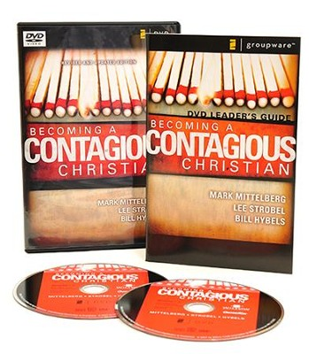 Becoming A Contagious Christian Dvd 9780310257882 Christianbook