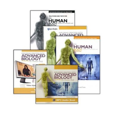Exploring Creation with Advanced Biology: The Human Body Super Set (2nd Edition)  -
