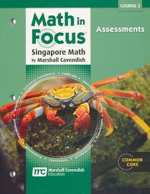 Math in Focus Course 2 (Grade 7) Assessments   -